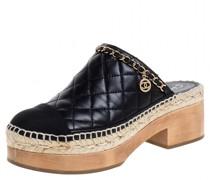 Second Hand ChanelLeder sandalen