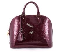 Second Hand Handtasche Leder Lila
