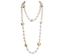 Second Hand VINTAGE Chanel CC Perlen halsketten