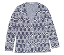Second Hand Pullover Synthetik Blau