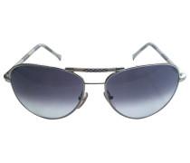 Sonnenbrillen Metall Grau