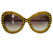 Sonnenbrillen Kunststoff Gelb