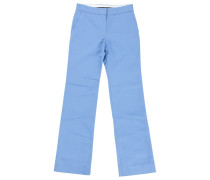 Hose Baumwolle Blau