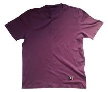 Second Hand T-Shirt Baumwolle Lila