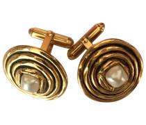 Brosche Metall Gold