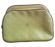 Second Hand Rucksack Leder Gelb