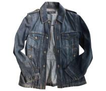 Second Hand Jacke.Blouson Denim - Jeans Blau