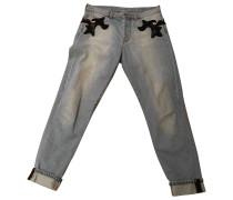 Hose Denim - Jeans Blau