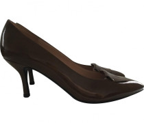 Pumps Lackleder Kamel
