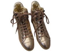Sneakers Leder Golden