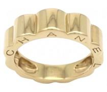 Second Hand ChanelCamélia Gelbgold Ringe