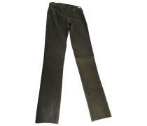 Leder leggings