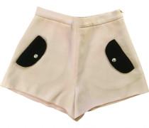 Shorts Baumwolle - Elasthan Rosa