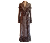 Mantel Wolle Bunt