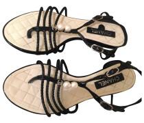 Lackleder sandalen