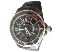 J12 Noire Marine ceramic montre