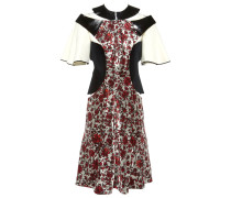Second Hand Seide midi kleid