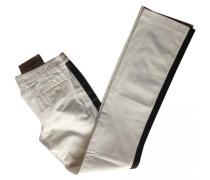 Jeans Baumwolle Weiß