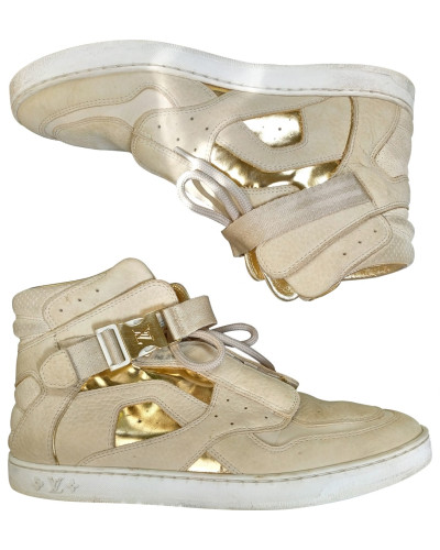 Second Hand Leder Sneakers