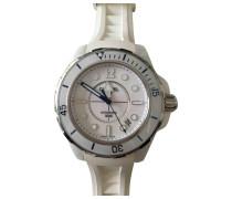 J12 Blanche Chronographe Keramik montre