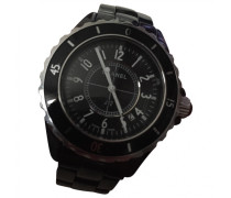 J12 Noire Quartz Keramik montre