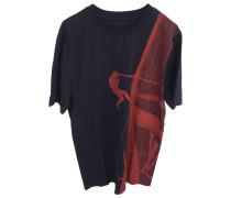 T-Shirt Baumwolle Blau