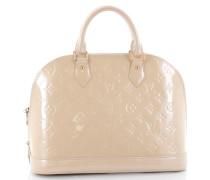 Second Hand Handtasche Leder Weiß