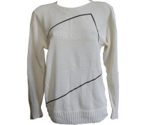 Pullover Baumwolle Ecru