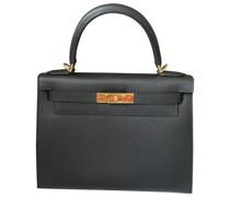 Second Hand HermèsKelly 28 Leder Handtaschen
