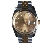 Second Hand Uhr Datejust Stahl Golden