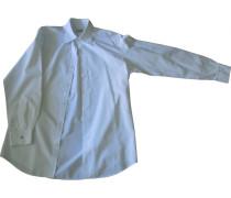 Second Hand Hemd Baumwolle Weiß