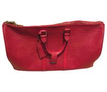 Keepall leather travel bag