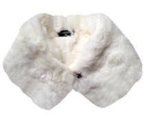 Schal Weiß