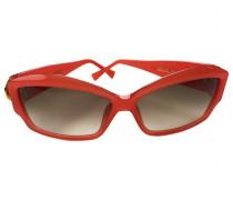 Sonnenbrillen Kunststoff Orange