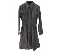 Second Hand Kleid Baumwolle Anthrazit