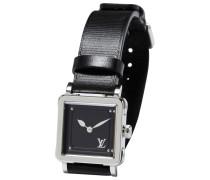 Second Hand Uhr Stahl Silber