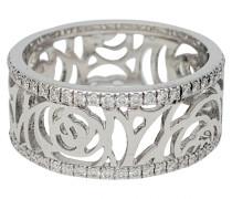 Second Hand ChanelCamélia Weißgold Ringe