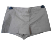 Second Hand Shorts Baumwolle Beige