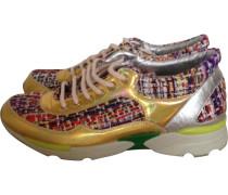 Sneakers Leintuch Bunt