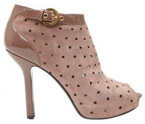 Opentoes stiefel