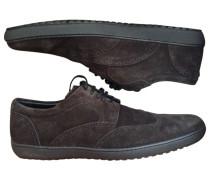 Sneakers Velourleder Braun