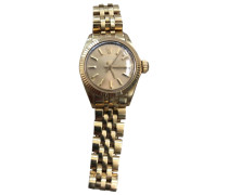 Second Hand Oyster Perpetual Lady Gelbgold Uhren