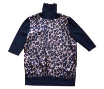 Pullover Seide Bunt