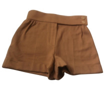 Shorts Baumwolle Kamel