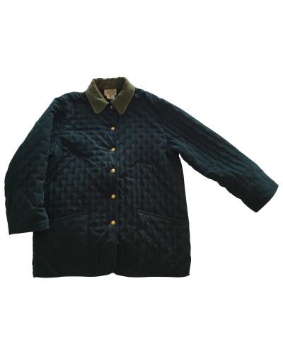 Second Hand Jacke Polyester Blau