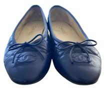 Second Hand ChanelLeder Ballerinas
