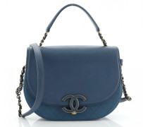 Second Hand ChanelCoco Curve Leder handtaschen