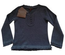 Pullover Wolle Grau