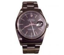 Second Hand Uhr Datejust Silber