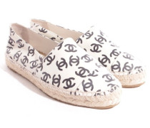 Second Hand  Chanel Leder-Espadrilles